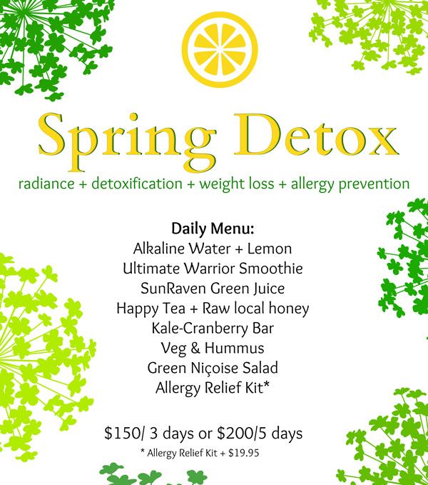 Spring-Detox