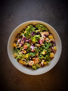 Curried Kale Salad for Website