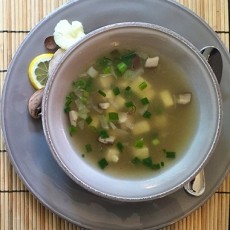 lemon meso soup